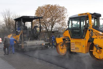 Straßenbaumaßnahmen im Industriegebiet Büren-West bald abgeschlossen