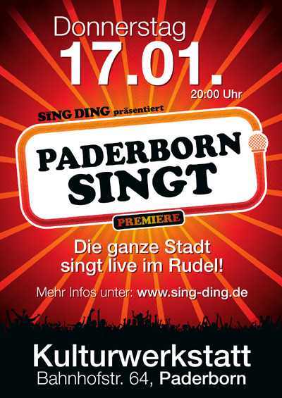 DAS SING-DING PRÄSENTIERT: PADERBORN SINGT!
