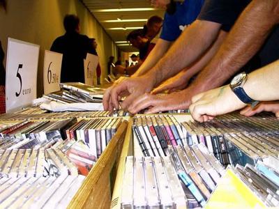 Paderborner Schallplatten- Börse am 4. Oktober