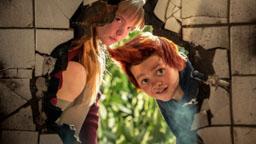 Lise und Bulle stehen Doktor Proktor mutig zur Seite