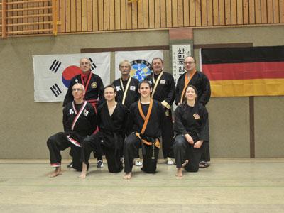 Der Hap-Ki-Do Club Paderborn hat erstmals eine Danträgerin!