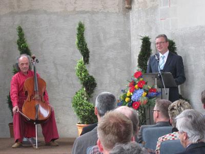 Rund 60 Gäste in der Langenohlkapelle