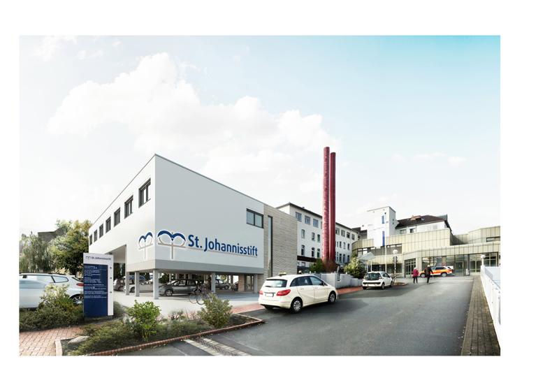 Aus- und Neubau Intensivstation des Ev. Krankenhauses St. Johannisstift