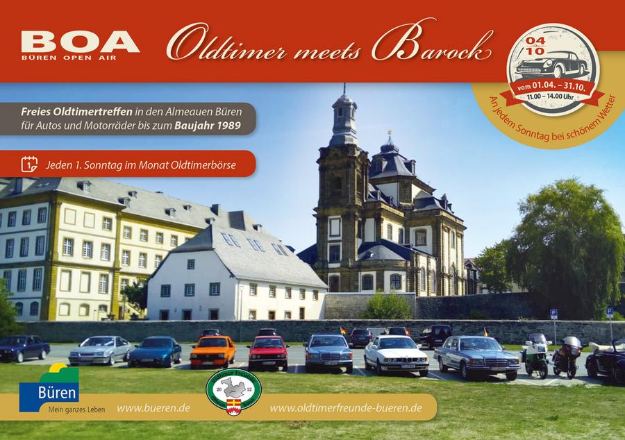 Oldtimer-Börse Plakat