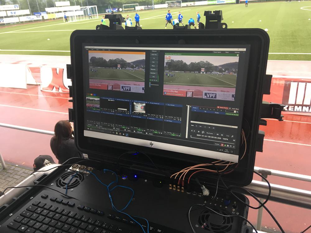 Videobeweis auf Monitor