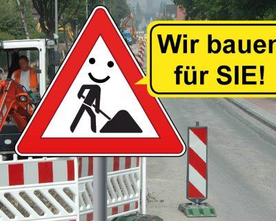 Giefersstraße und Jahnstraße ab nächsten Mittwoch gesperrt