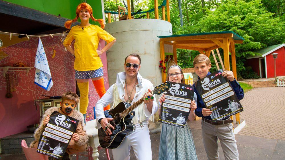 Musikalisches Abendprogramm: Rock`n Roll-Revue mit Elvis-Imitator Carsten Keber