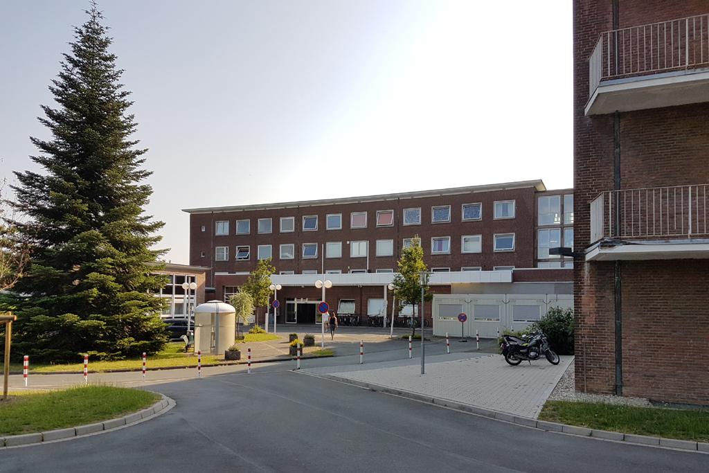 Krankenhausgebäude