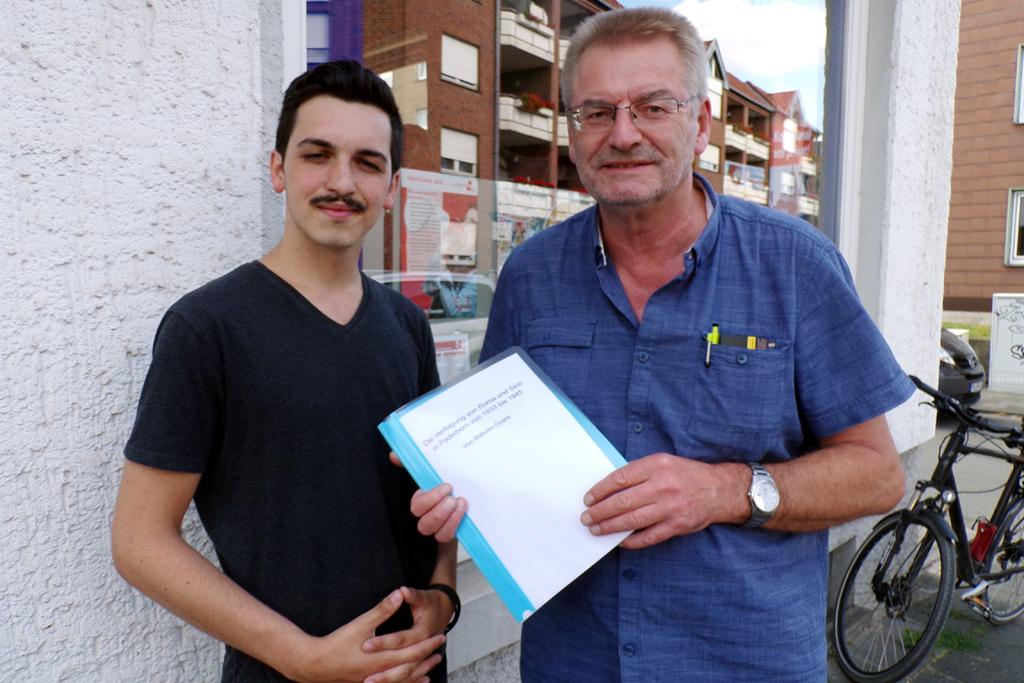 Giano Weiß und Reinhard Borgmeier.