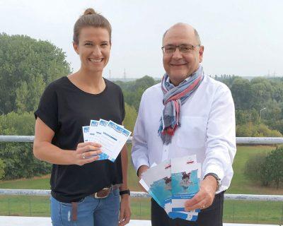 Neue Ansprechpartnerin für die Schul-Schwimm-Initiative