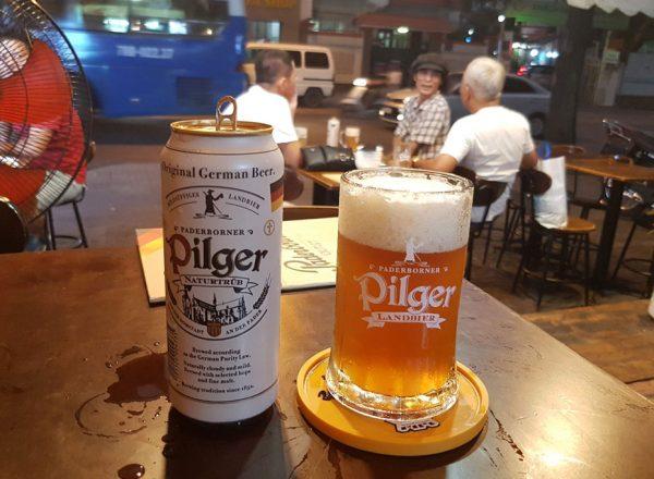 Pilger Landbier auch in Saigon!