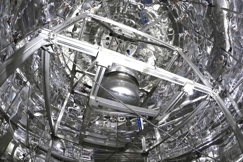 XENON1T - das Innere