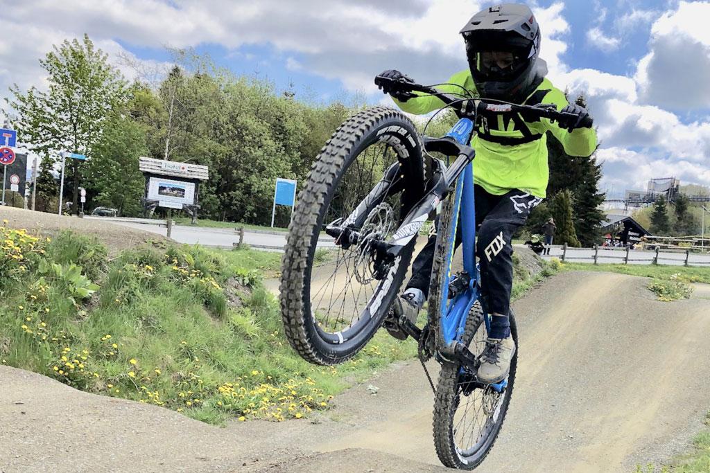 Fahrrad-Trial