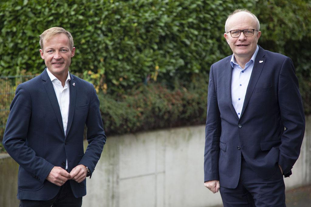 Daniel Sieveke und Bernhard Hoppe-Biermeyer
