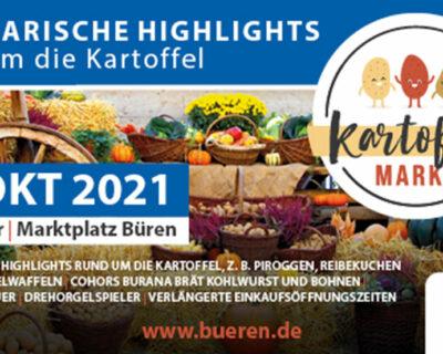 Verlegung des Wochenmarktes am 23. Oktober 2021